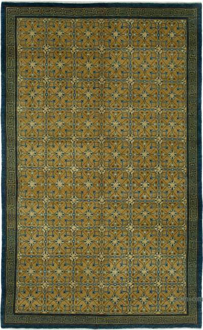 """New Hand Knotted All Wool Oushak Rug - 5' 10"""" x 9' 3"""" (70 in. x 111 in.)"""