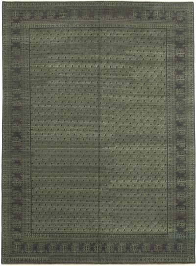 "New Hand Knotted All Wool Oushak Rug - 8' 10"" x 11' 10"" (106 in. x 142 in.)"