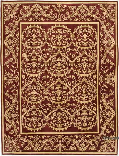 """New Hand Knotted All Wool Oushak Rug - 9'3"""" x 12'4"""" (111 in. x 148 in.)"""