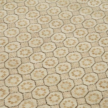 """Beige, Green New Hand Knotted Wool Oushak Rug - 5' 11"""" x 9'  (71 in. x 108 in.) - K0040834"""
