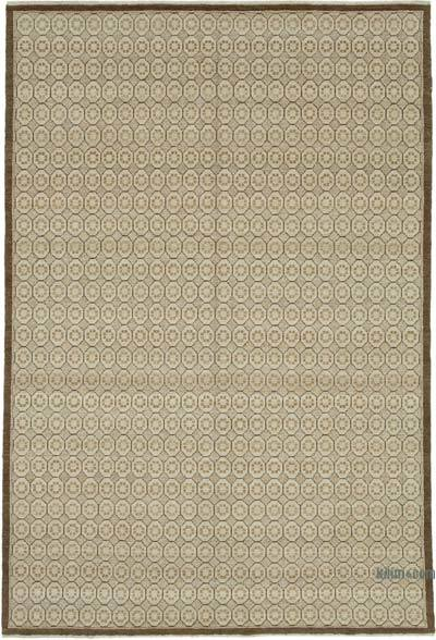"New Hand Knotted All Wool Oushak Rug - 5'11"" x 9' (71 in. x 108 in.)"