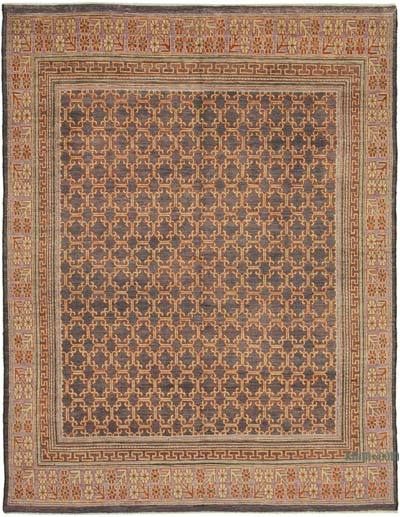 "New Hand Knotted All Wool Oushak Rug - 7' 11"" x 10' 2"" (95 in. x 122 in.)"