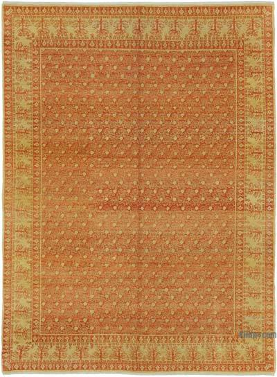 "New Hand Knotted All Wool Oushak Rug - 5'11"" x 8' (71 in. x 96 in.)"