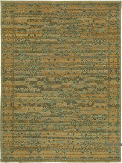 """New Hand Knotted All Wool Oushak Rug - 8'10"""" x 12' (106 in. x 144 in.)"""