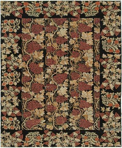 "New Hand Knotted All Wool Oushak Rug - 8'11"" x 11'1"" (107 in. x 133 in.)"