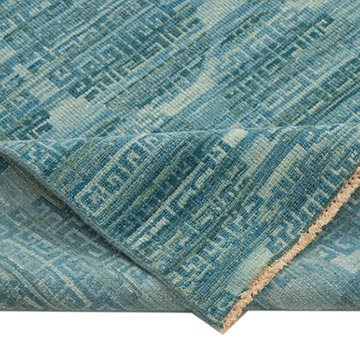 """New Hand Knotted Wool Oushak Rug - 8' 4"""" x 9' 10"""" (100 in. x 118 in.) - K0040853"""