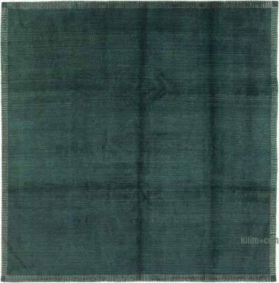 """New Hand Knotted All Wool Oushak Rug - 7' 10"""" x 7' 10"""" (94 in. x 94 in.)"""