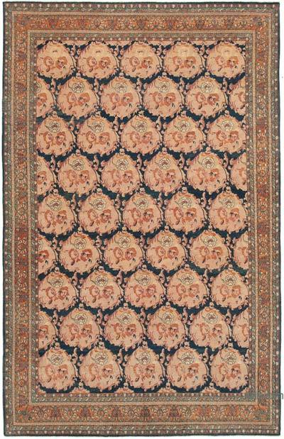 "New Hand Knotted All Wool Oushak Rug - 7' 9"" x 12'  (93 in. x 144 in.)"