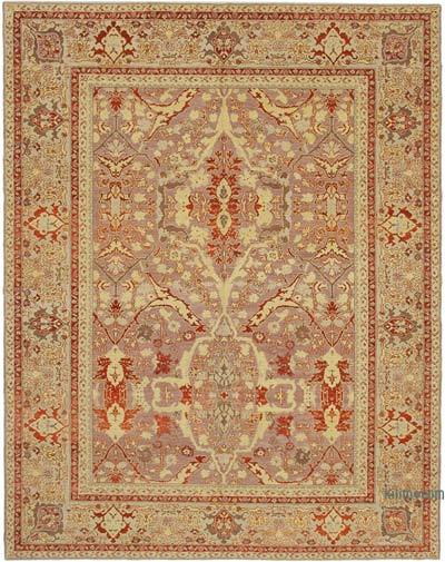 "New Hand Knotted All Wool Oushak Rug - 7' 10"" x 10' 1"" (94 in. x 121 in.)"