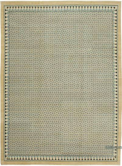 "New Hand Knotted All Wool Oushak Rug - 8'10"" x 12'1"" (106 in. x 145 in.)"