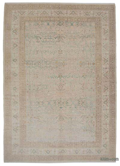"New Hand Knotted All Wool Oushak Rug - 10' 10"" x 15' 3"" (130 in. x 183 in.)"