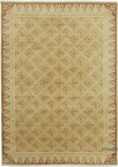 "New Hand Knotted All Wool Oushak Rug - 9' 1"" x 12' 10"" (109 in. x 154 in.)"
