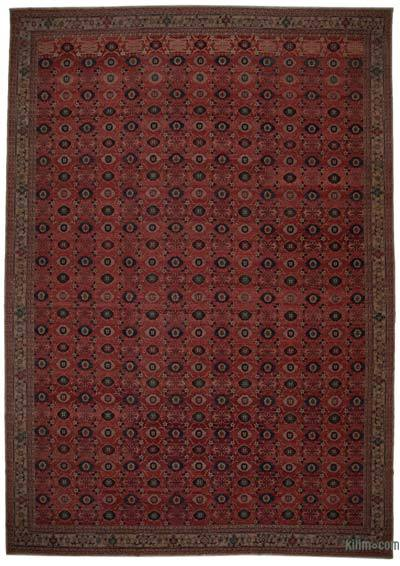 """New Hand Knotted All Wool Oushak Rug - 13'9"""" x 19'9"""" (165 in. x 237 in.)"""
