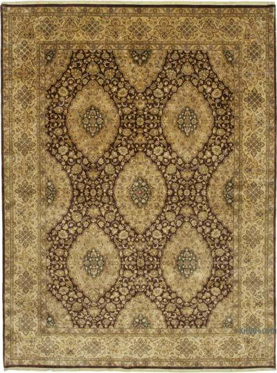 "New Hand Knotted All Wool Oushak Rug - 9'2"" x 12'2"" (110 in. x 146 in.)"