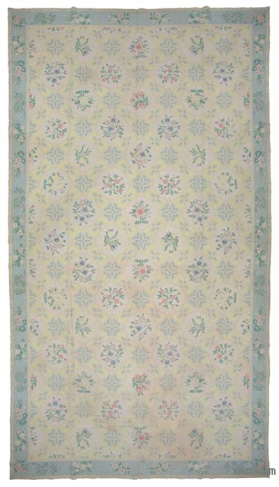 "New Hand Knotted All Wool Oushak Rug - 10'11"" x 19'11"" (131 in. x 239 in.)"