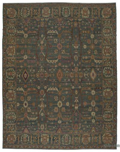 """New Hand Knotted All Wool Oushak Rug - 11'11"""" x 15'6"""" (143 in. x 186 in.)"""