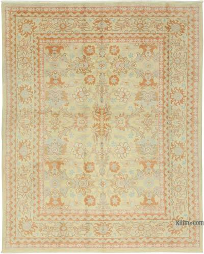 New Hand Knotted All Wool Oushak Rug - 8' x 10' (96 in. x 120 in.)