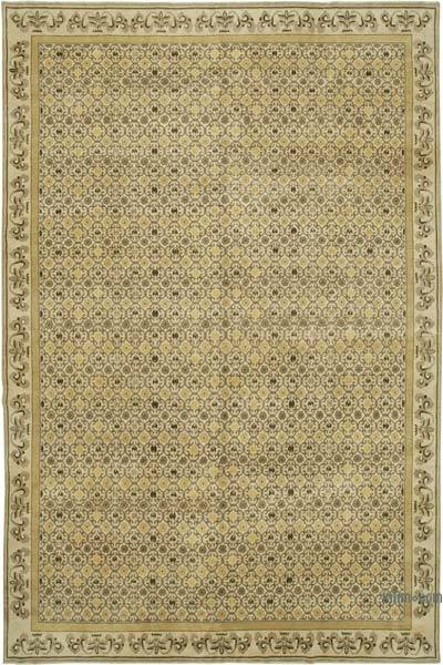 "New Hand Knotted All Wool Oushak Rug - 9' 11"" x 15' 4"" (119 in. x 184 in.)"