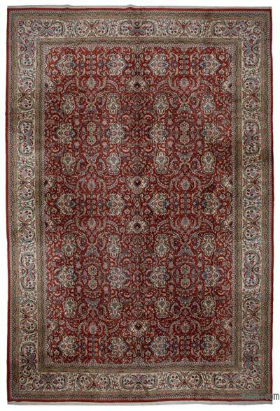 "New Hand Knotted All Wool Oushak Rug - 13'1"" x 19'9"" (157 in. x 237 in.)"