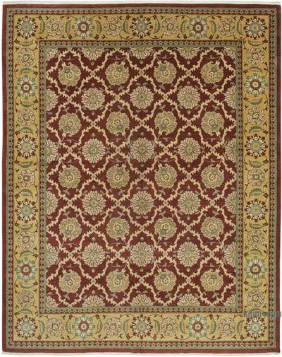 """New Hand Knotted All Wool Oushak Rug - 9' 11"""" x 12' 8"""" (119 in. x 152 in.)"""