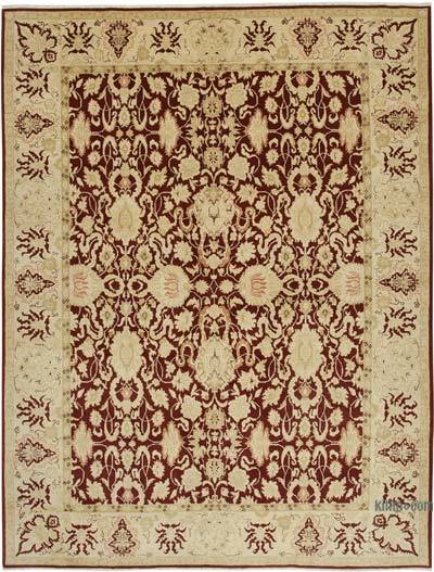 """New Hand Knotted All Wool Oushak Rug - 9'2"""" x 11'11"""" (110 in. x 143 in.)"""