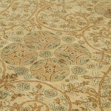 """New Hand Knotted Wool Oushak Rug - 9' 2"""" x 16' 9"""" (110 in. x 201 in.) - K0040943"""