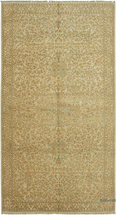 """New Hand Knotted All Wool Oushak Rug - 9' 2"""" x 16' 9"""" (110 in. x 201 in.)"""