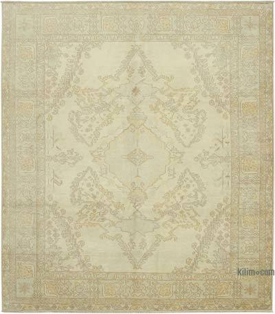 """New Hand Knotted All Wool Oushak Rug - 8'3"""" x 9'5"""" (99 in. x 113 in.)"""
