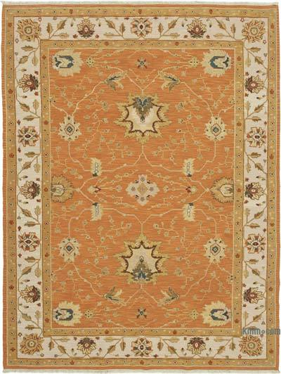 """New Hand Knotted All Wool Oushak Rug - 8'7"""" x 11'5"""" (103 in. x 137 in.)"""