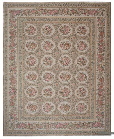 """New Hand Knotted All Wool Oushak Rug - 12' x 14'9"""" (144 in. x 177 in.)"""