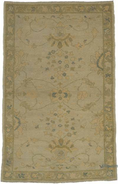 """New Hand Knotted All Wool Oushak Rug - 3'9"""" x 6' (45 in. x 72 in.)"""