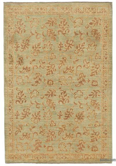 """New Hand Knotted All Wool Oushak Rug - 3' 10"""" x 5' 10"""" (46 in. x 70 in.)"""