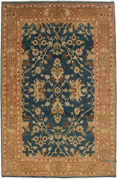 "New Hand Knotted All Wool Oushak Rug - 4'  x 6' 1"" (48 in. x 73 in.)"