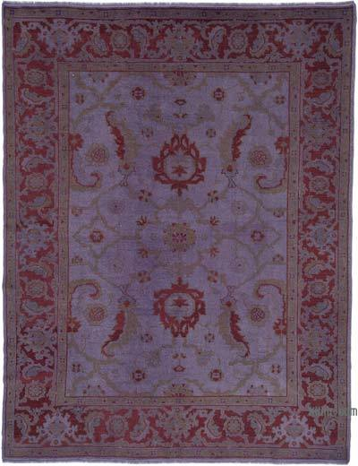 """New Hand Knotted All Wool Oushak Rug - 7'  x 9' 1"""" (84 in. x 109 in.)"""