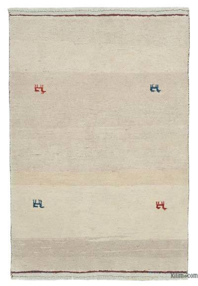 "New Hand Knotted All Wool Oushak Rug - 3' 5"" x 4' 10"" (41 in. x 58 in.)"