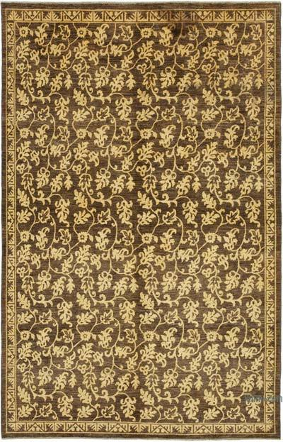 "New Hand Knotted All Wool Oushak Rug - 6'  x 9' 1"" (72 in. x 109 in.)"