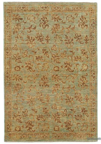 "New Hand Knotted All Wool Oushak Rug - 3' 11"" x 5' 8"" (47 in. x 68 in.)"