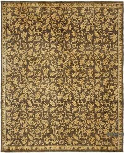 """New Hand Knotted All Wool Oushak Rug - 7' 9"""" x 9' 5"""" (93 in. x 113 in.)"""