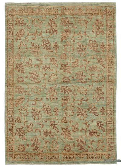 """New Hand Knotted All Wool Oushak Rug - 3' 11"""" x 5' 9"""" (47 in. x 69 in.)"""