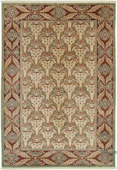"New Hand Knotted All Wool Oushak Rug - 6'6"" x 9'6"" (78 in. x 114 in.)"