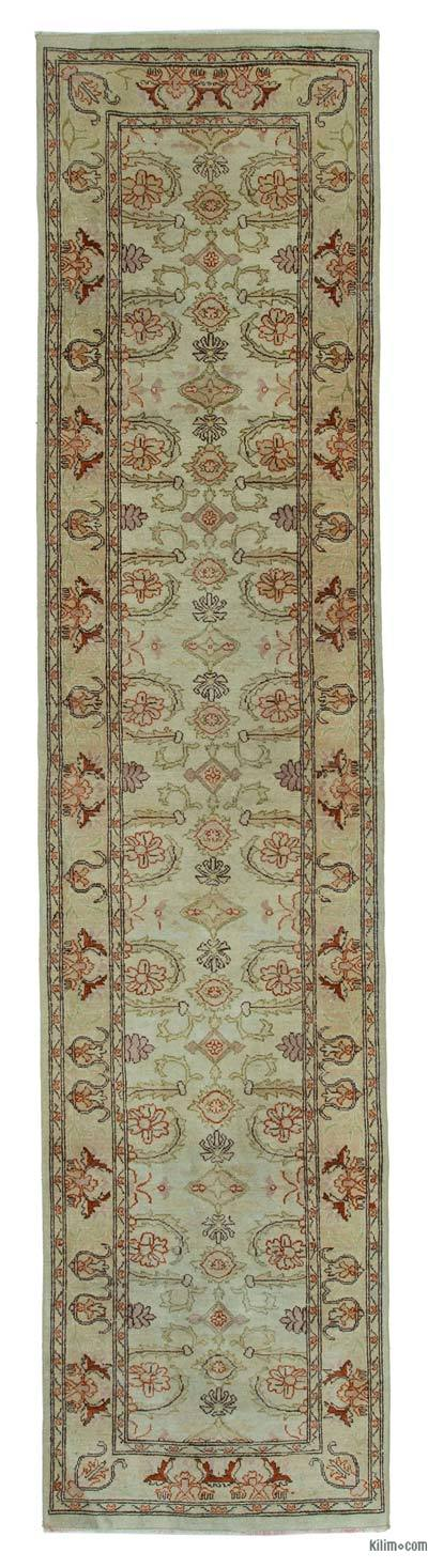 "New Oushak Runner Rug - 2' 4"" x 10'  (28 in. x 120 in.)"