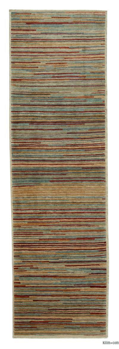 "New Oushak Runner Rug - 2'9"" x 9'3"" (33 in. x 111 in.)"