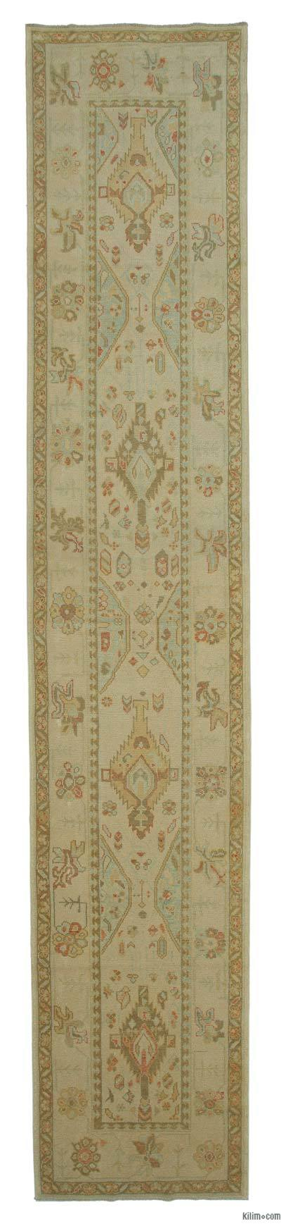 New Ushak Runner Rug