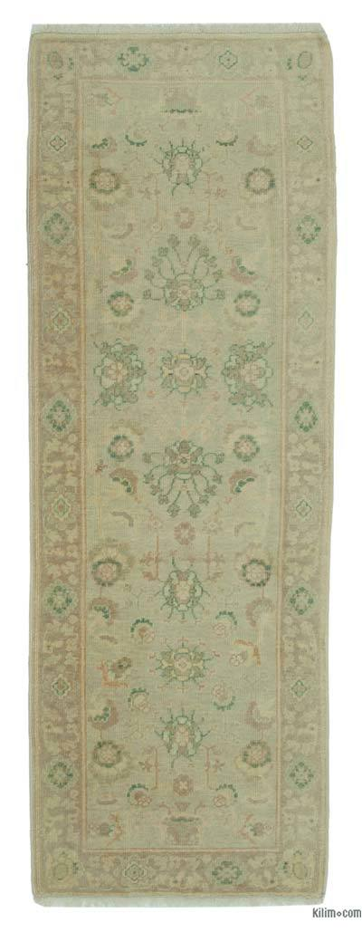 "New Oushak Runner Rug - 2'9"" x 7'10"" (33 in. x 94 in.)"