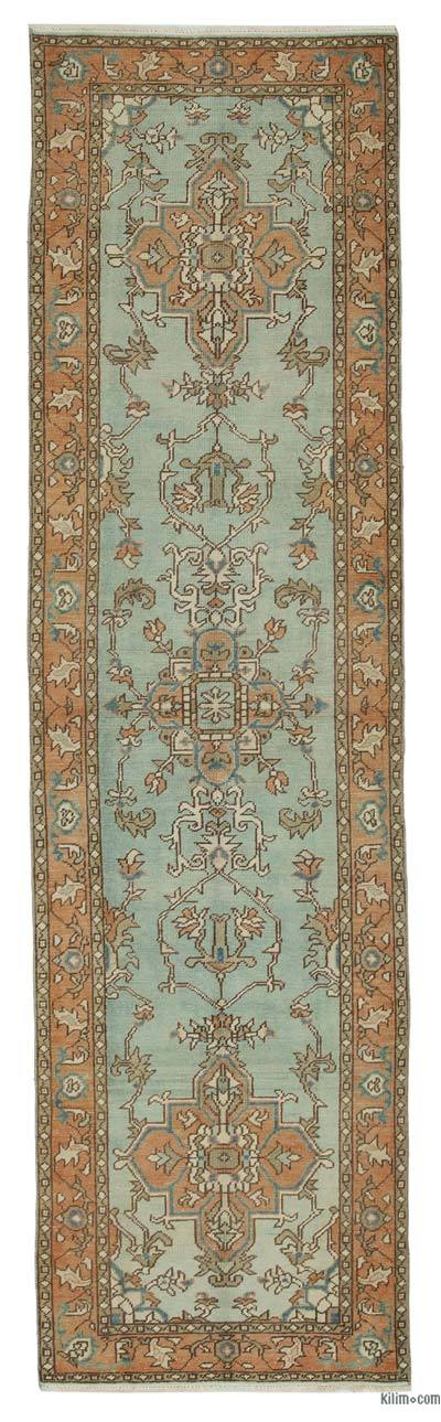 "New Oushak Runner Rug - 2' 7"" x 9' 7"" (31 in. x 115 in.)"