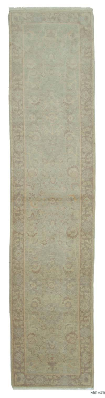 "New Oushak Runner Rug - 2'7"" x 11'9"" (31 in. x 141 in.)"