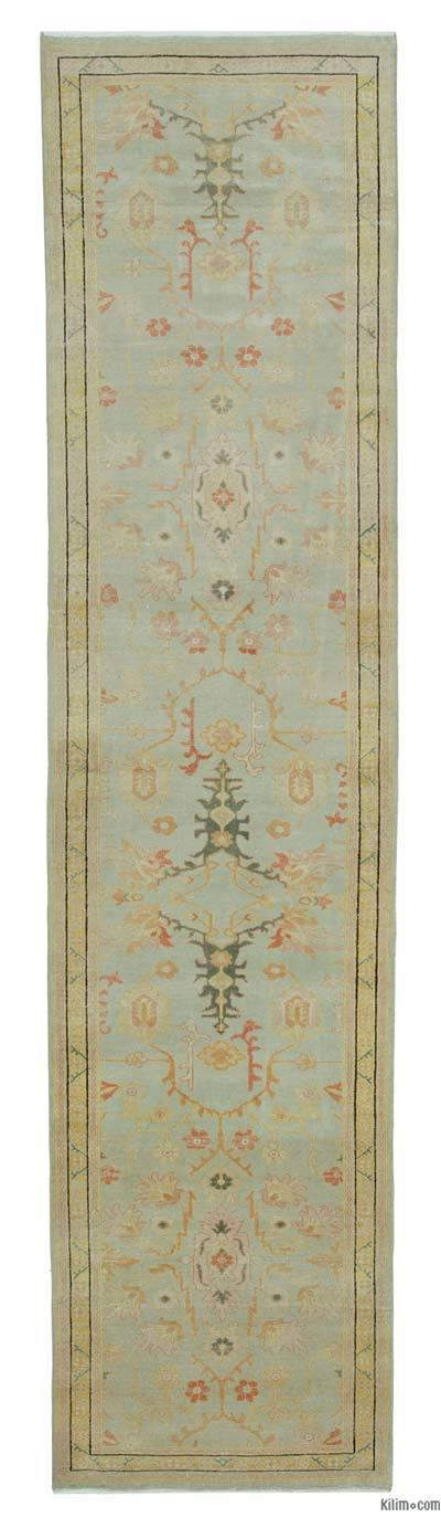 "New Oushak Runner Rug - 2'11"" x 11'11"" (35 in. x 143 in.)"