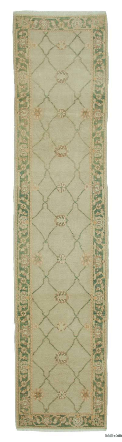 "New Oushak Runner Rug - 2'8"" x 11'10"" (32 in. x 142 in.)"