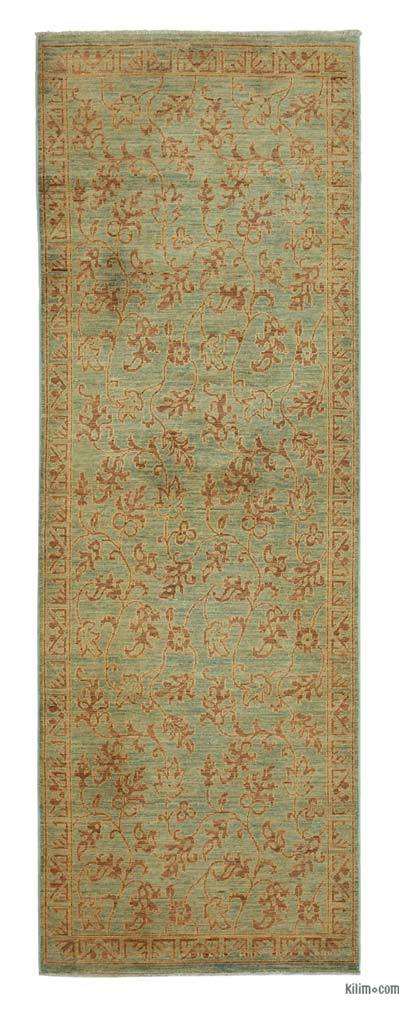 "New Oushak Runner Rug - 2' 11"" x 8' 5"" (35 in. x 101 in.)"