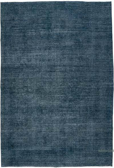 """Over-dyed Vintage Hand-knotted Oriental Rug - 8' 6"""" x 12' 8"""" (102 in. x 152 in.)"""